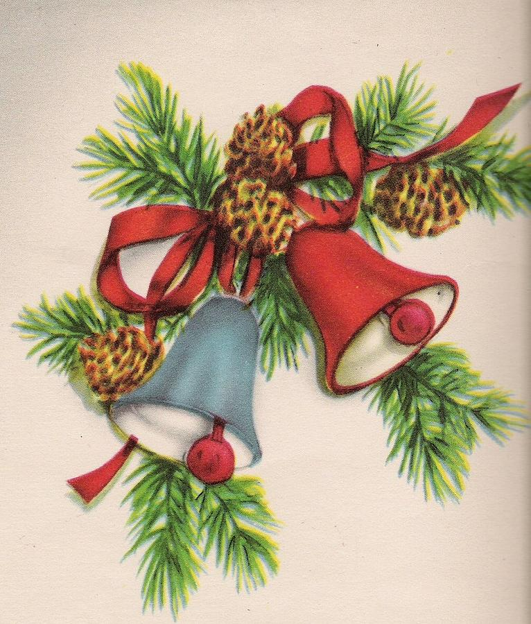 Christmas Bells And Ribbons