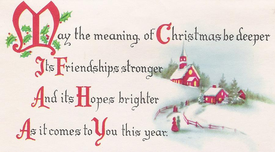 Christmas Card Quotes.Christmas Illustration 69 Christmas Quotes With Snowy Cottage