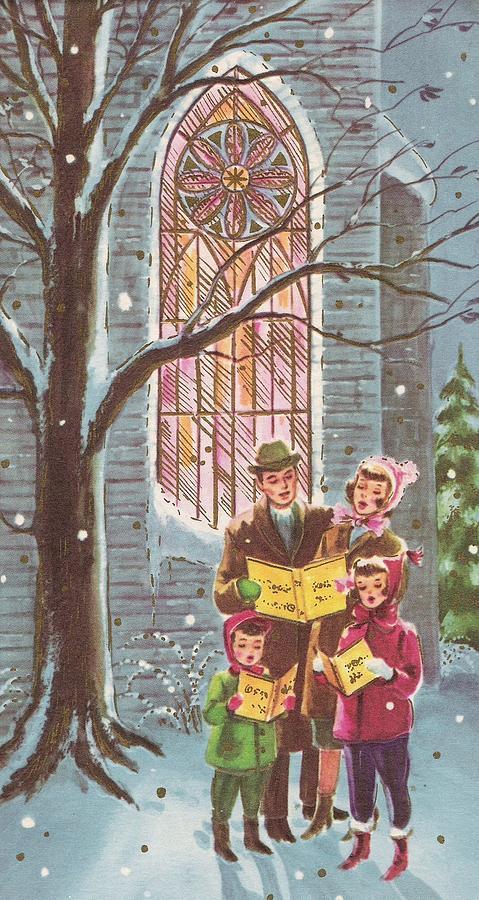 foto de Christmas Illustration 800 - Vintage Christmas Cards - Noel ...