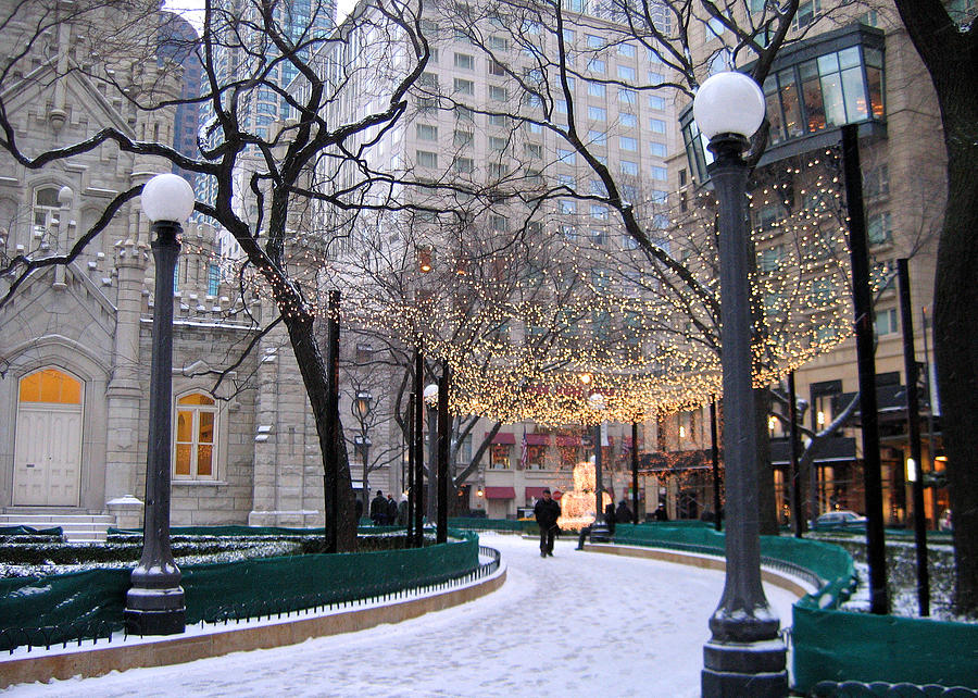 Christmas In Chicago Images.Christmas In Chicago