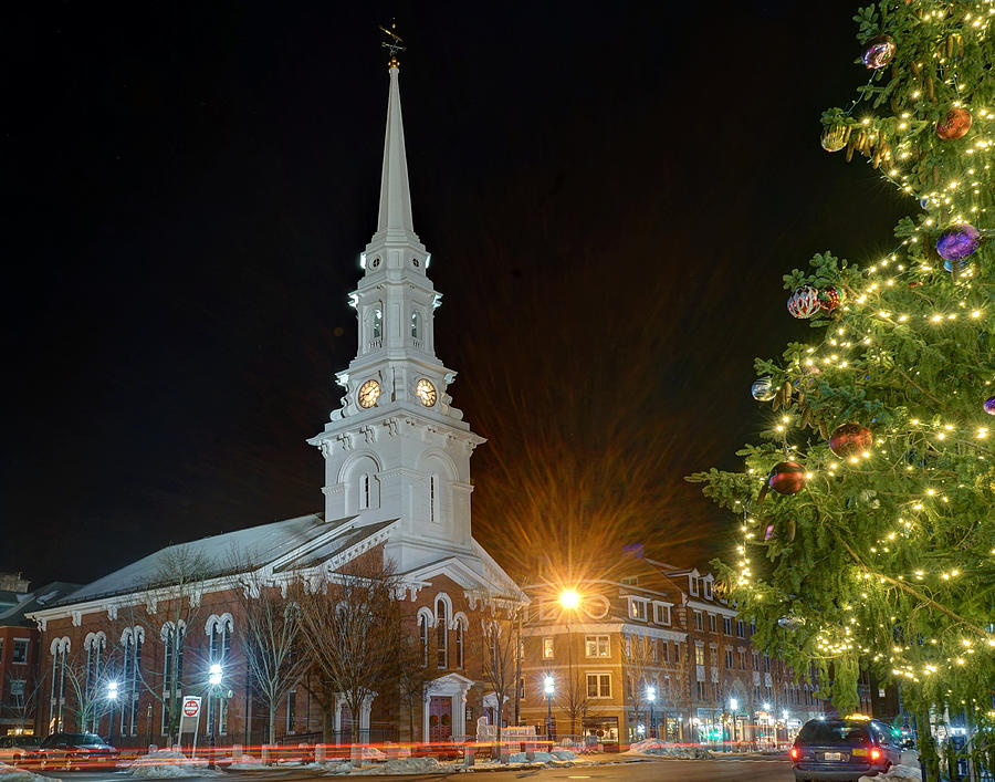 Christmas In Market Square Photograph