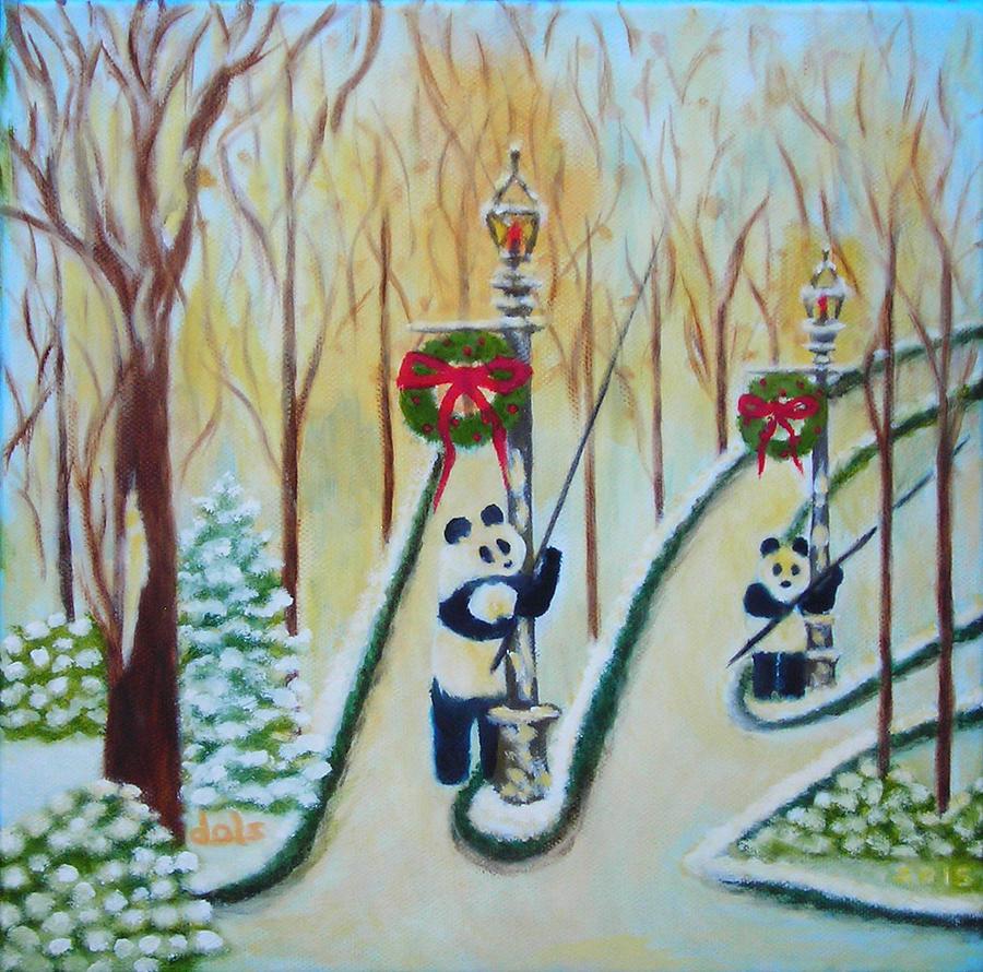 Christmas Lamplighters by Douglas Ann Slusher