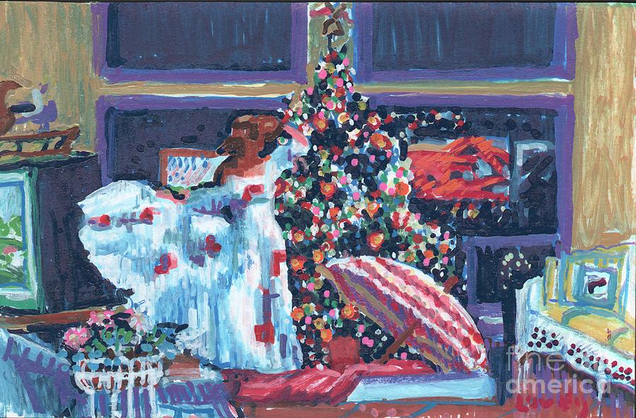 Christmas Liberty Painting