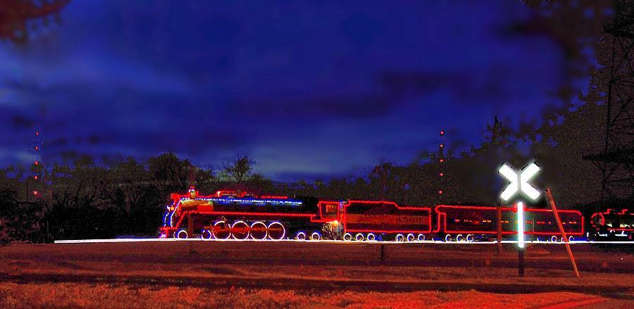 Christmas Lights On The Meteor 4500