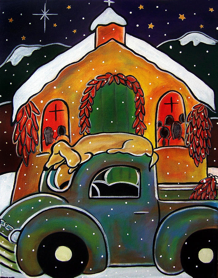 Christmas Mass by Jan Oliver-Schultz
