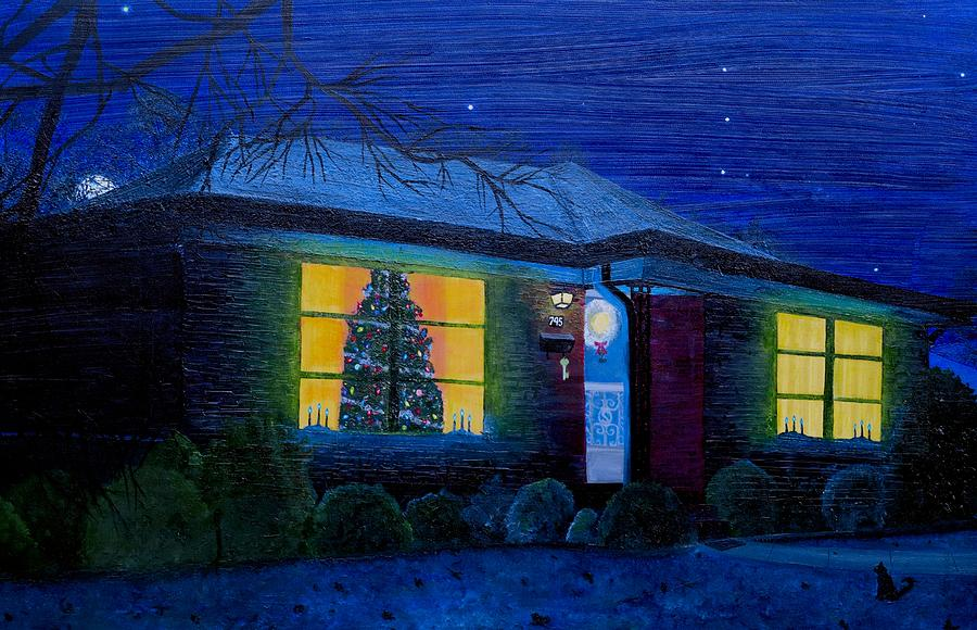 Christmas Painting - The Image Of Christmas Past by Timothy Smith