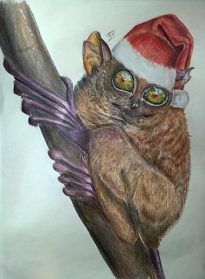 Christmas Drawing - Christmas Mood  by Ivana Koleva