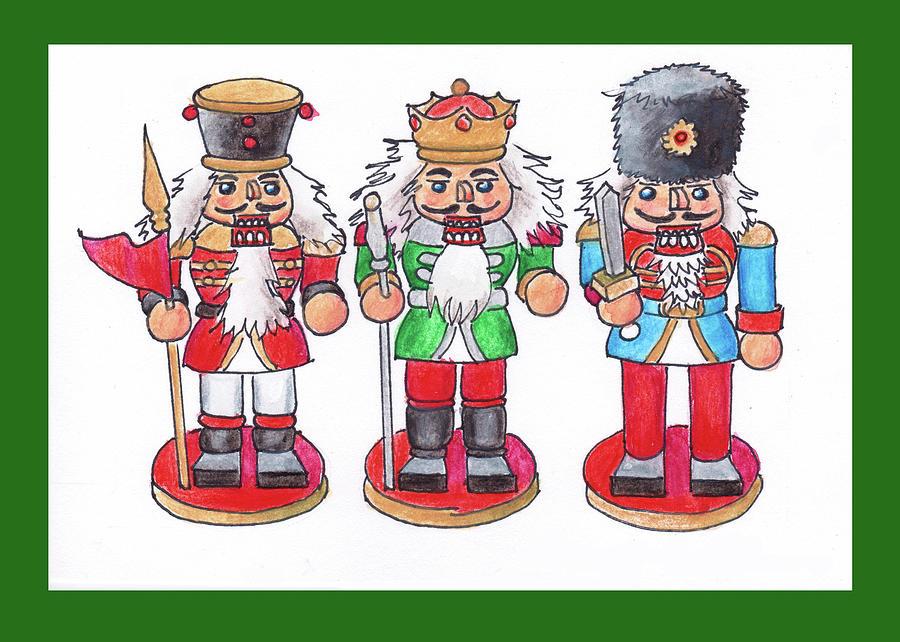 Christmas Nutcrackers by Mary Helmreich