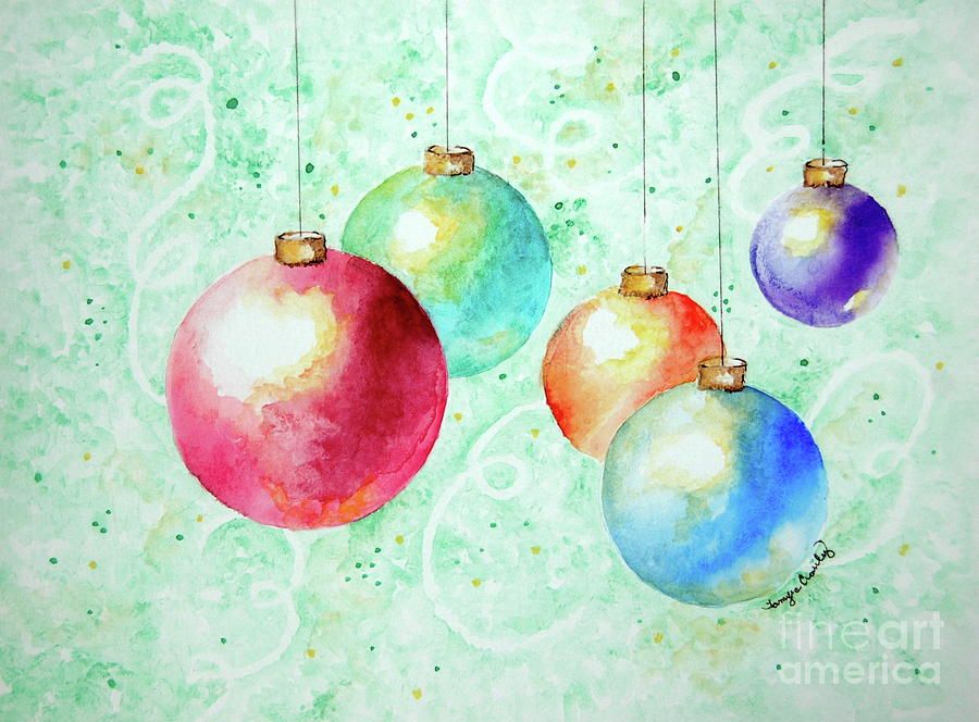 Christmas Ornaments by Tamyra Crossley