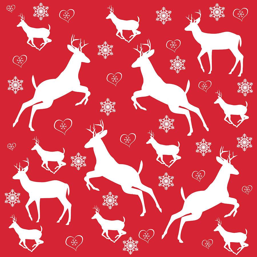 Christmas Pattern Digital Art