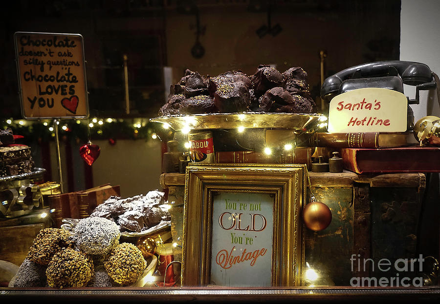 Christmas Showcase With Sweets Photograph