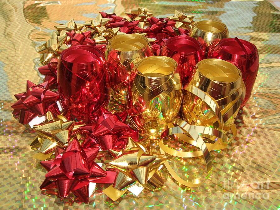 Christmas Photograph - Christmas Sparkle by Deborah Brewer