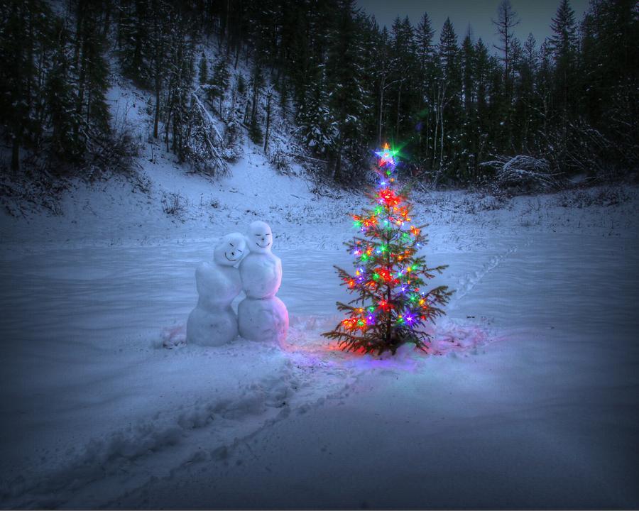 Robert Photograph - Christmas Spirit At Grouse Creek by Robert Hosea