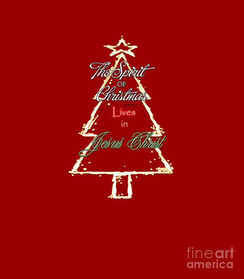 Christmas Digital Art - Christmas Spirit by Judy Hall-Folde