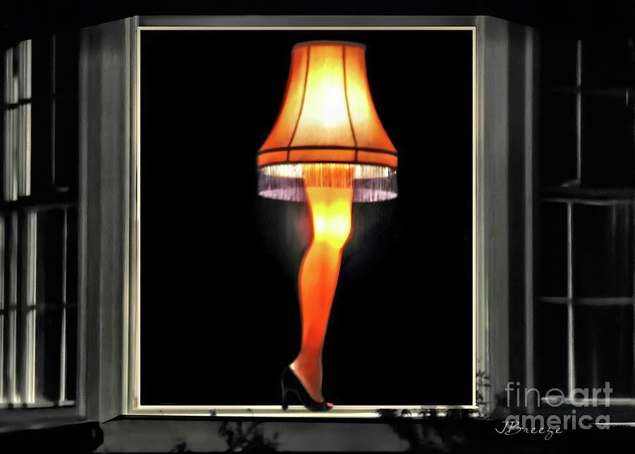 The Christmas Story Leg Lamp.Christmas Story Leg Lamp