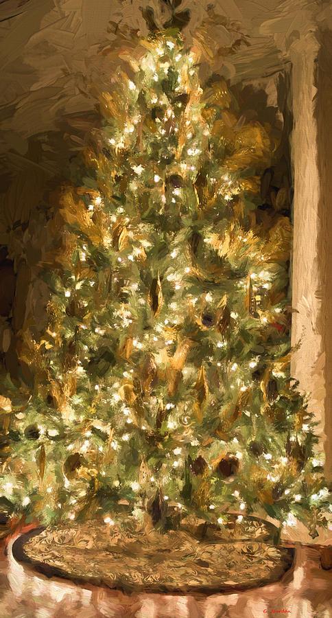 Christmas tree by Cathy Jourdan