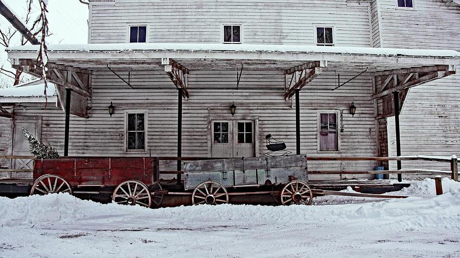 Christmas Tree Wagon Photograph