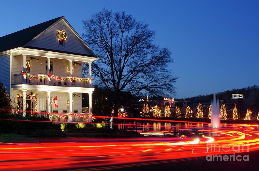 Mcadenville Photograph - Christmas Village by Craig McCausland
