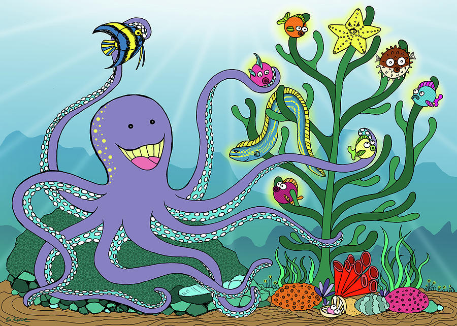 Christmas With The Octopus by Shawna Rowe