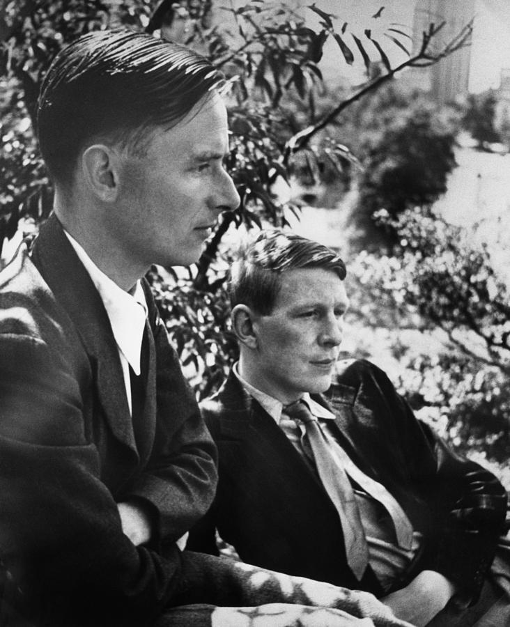 1930s Candid Photograph - Christopher Isherwood, Novelist by Everett