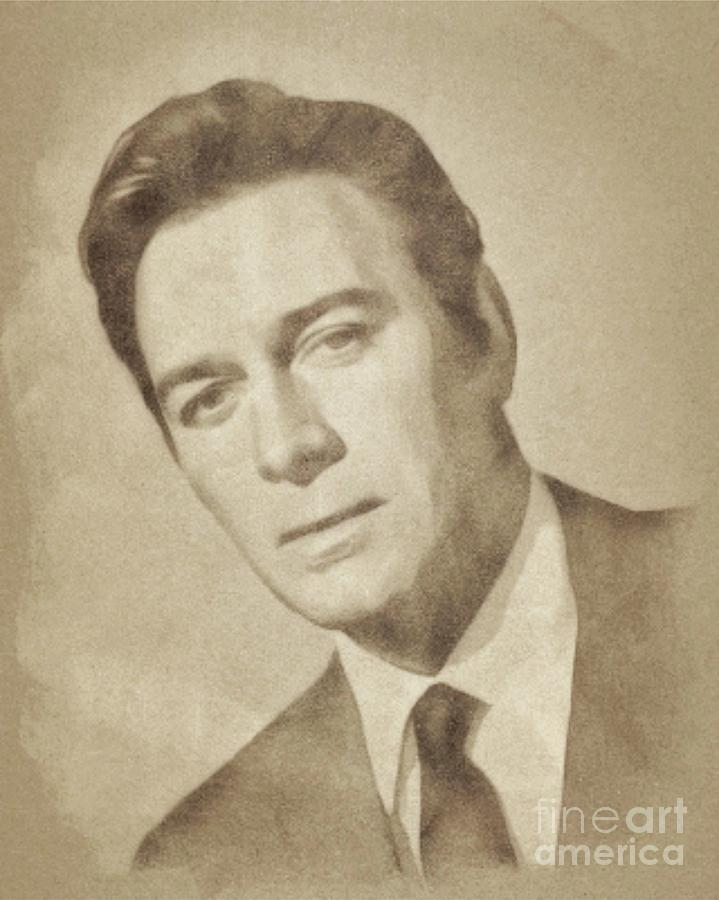 Christopher Plummer, Actor Drawing