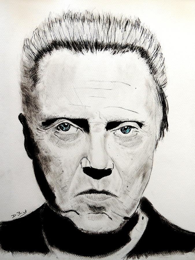 Christopher Walken by David Briot
