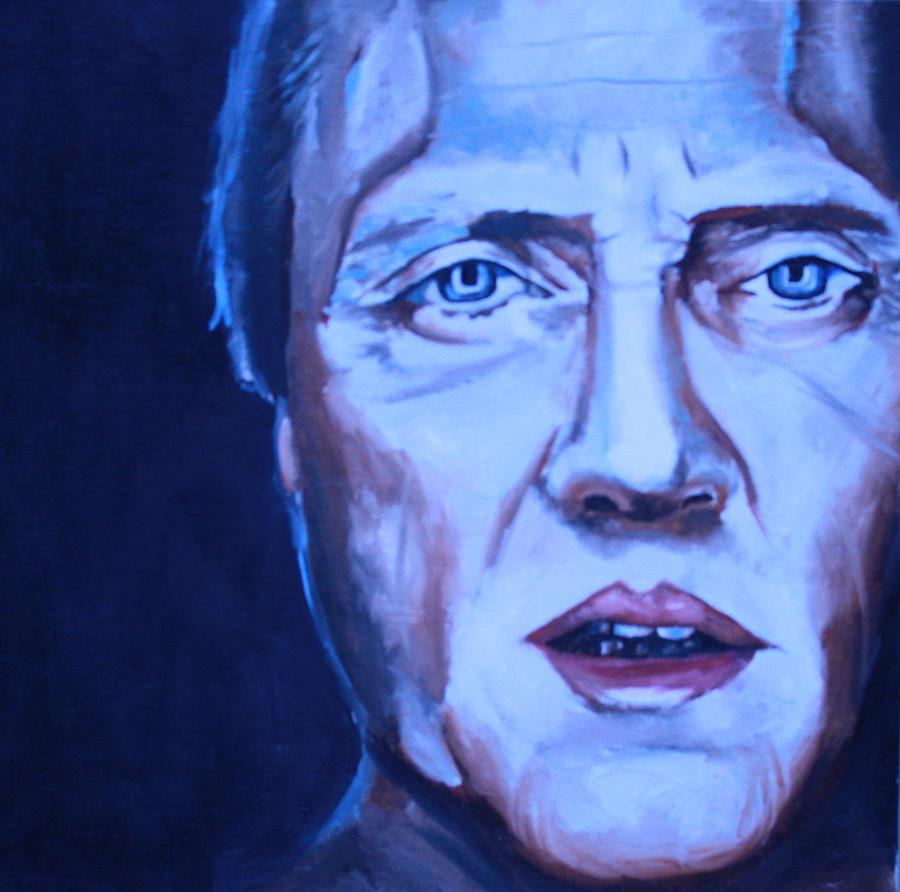 Christopher Walken Portrait Painting - Christopher Walken Portrait by Mikayla Ziegler