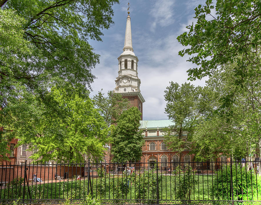 Christ's Church Philadelphia by John A Megaw