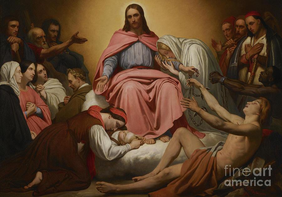 Christus Consolator Painting - Christus Consolator by Ary Scheffer