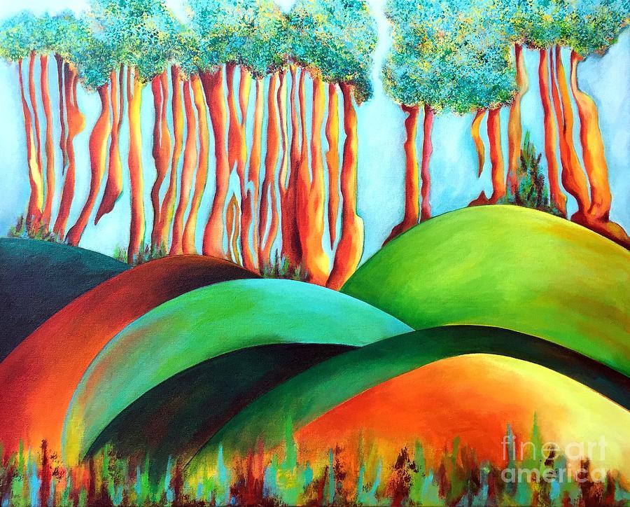 Forest Waltz by Elizabeth Fontaine-Barr