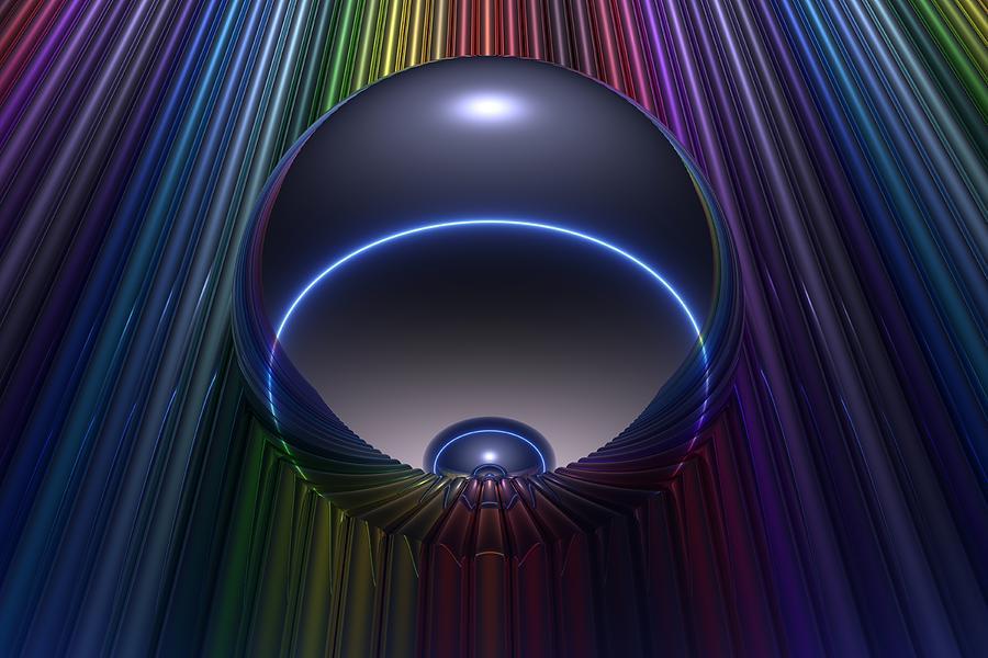 Bryce Digital Art - Chroma by Lyle Hatch