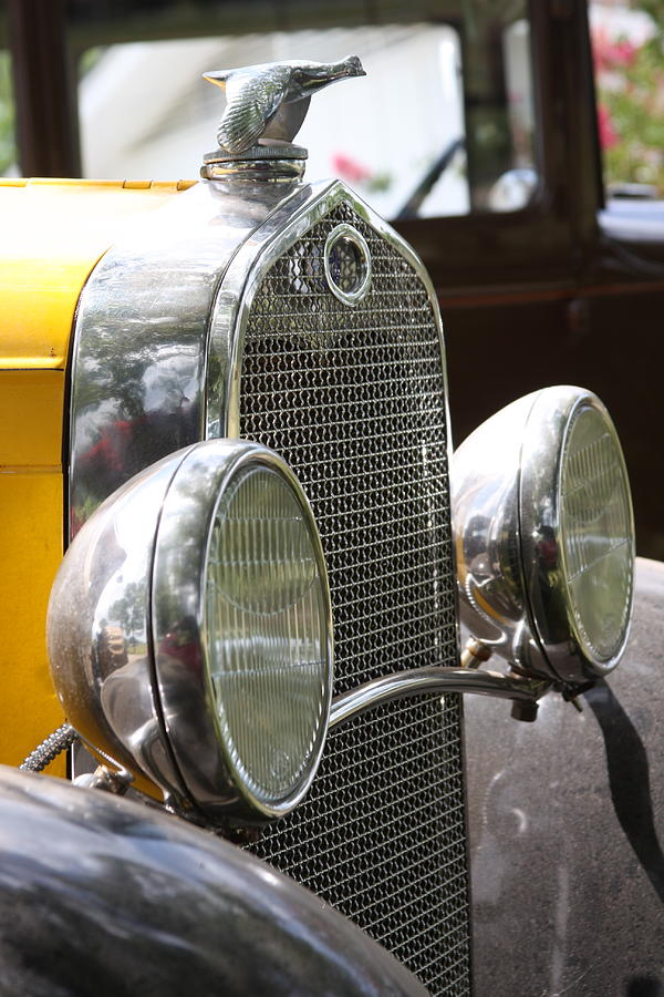 Ford Photograph - Chrome Grill by Jonathan Kotinek