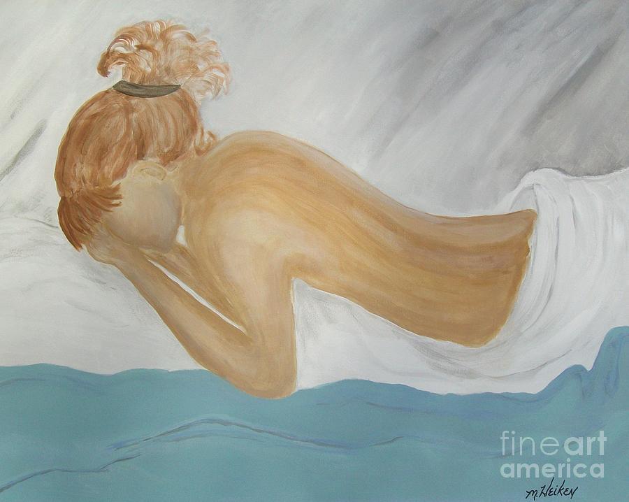 Pain Painting - Chronic Pain by Marsha Heiken