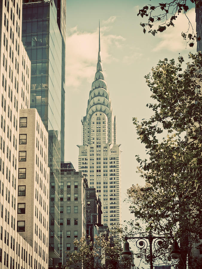 New York City Photograph - Chrysler Building by Darren Martin