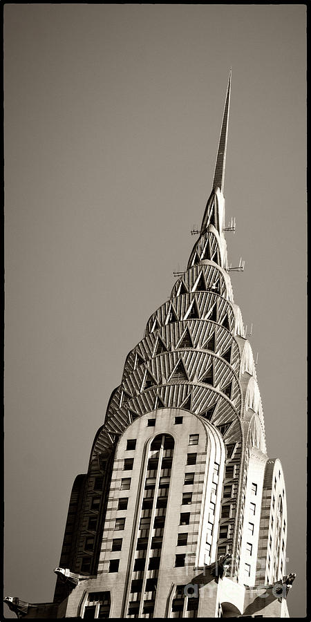 Chrysler Buidling Photograph - Chrysler Building New York City by Juergen Held