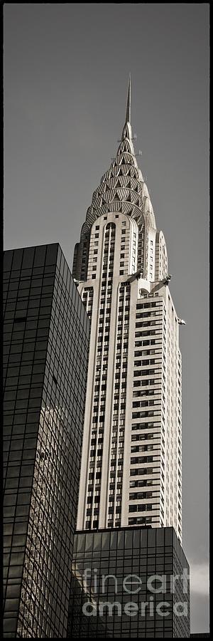 Chrysler Buidling Photograph - Chrysler Building New York by Juergen Held