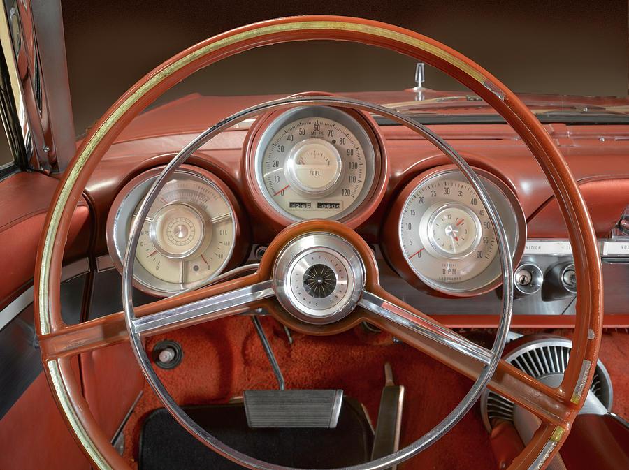 Chrysler Turbine Cockpit View by Richard Lund