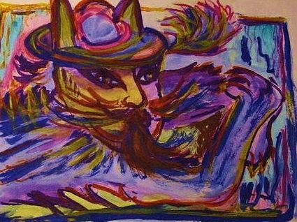 Chuchu Painting by Nila  Poduschco