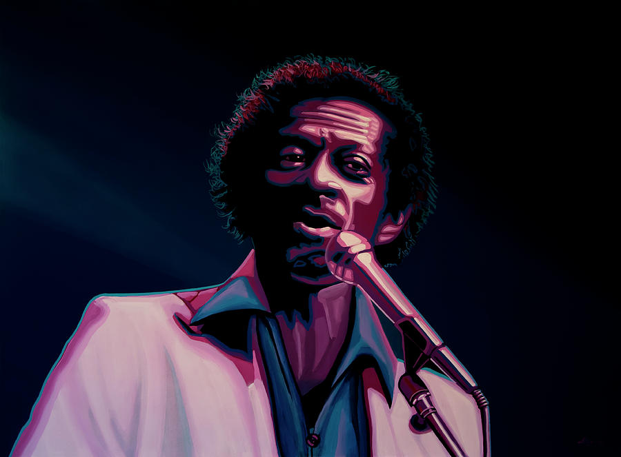 Chuck Berry Painting - Chuck Berry by Paul Meijering