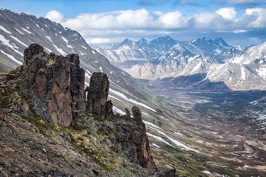 Alaska Photograph - Chugach Backcountry in Spring by Tim Newton