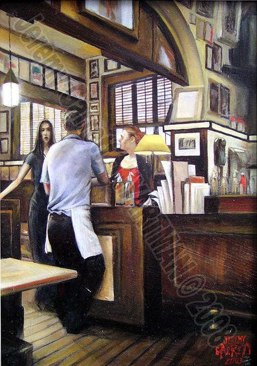 New York City Painting - Chumbleys by Jeremy Garrett