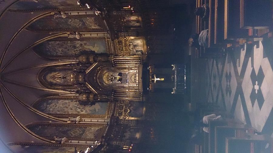 Church Photograph - Church Altar  by Moshe Harboun