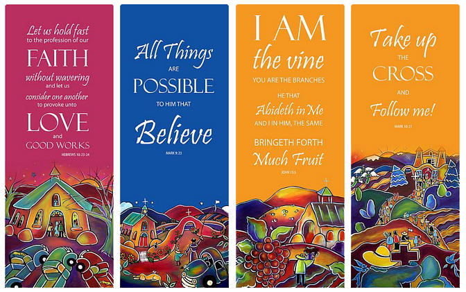 Church Banners by Jan Oliver-Schultz