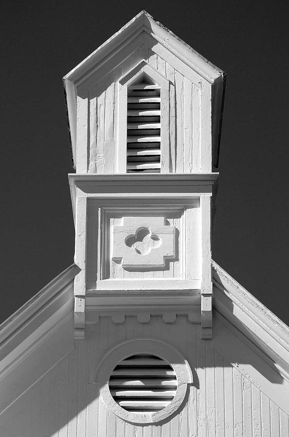 Church Detail Photograph by Barney Conrath