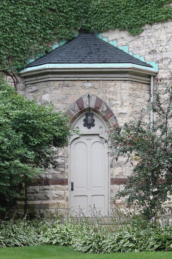 Church Photograph - Church Door by Lauri Novak