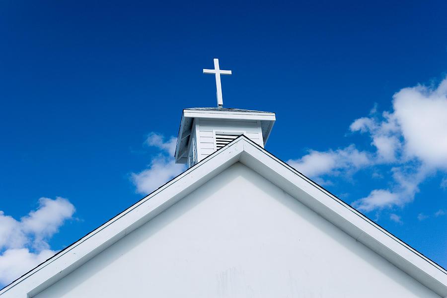Church Photograph - Church In Bahamas by Richard Steinberger