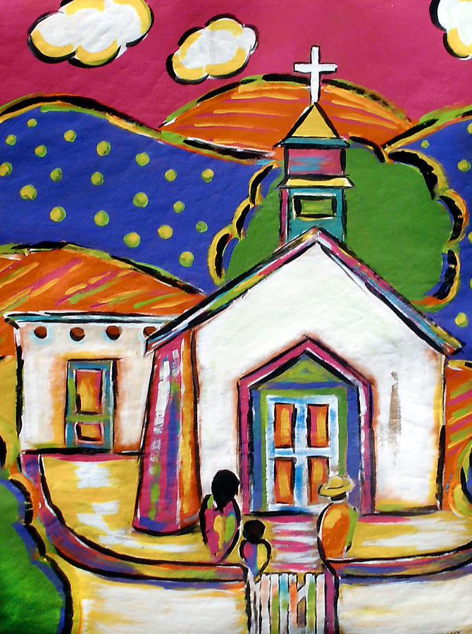 Church in Blanco by Jan Oliver-Schultz