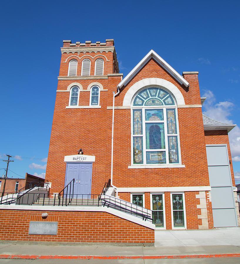 Church in Emmett Idaho Photograph by Dart and Suze Humeston
