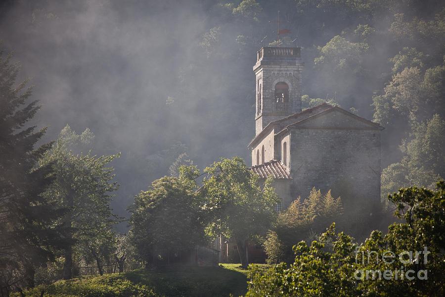 Church Photograph - Church In Partigliano by Steven Gray