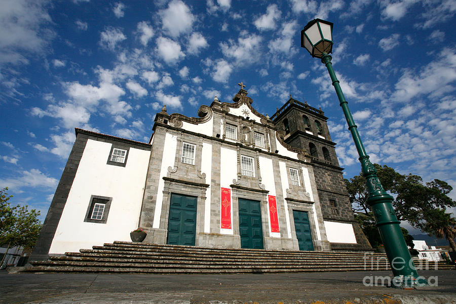 Catholic Photograph - Church In Ribeira Grande by Gaspar Avila